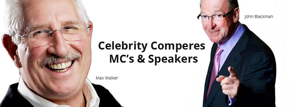 Book Celebrity Speakers & MC's