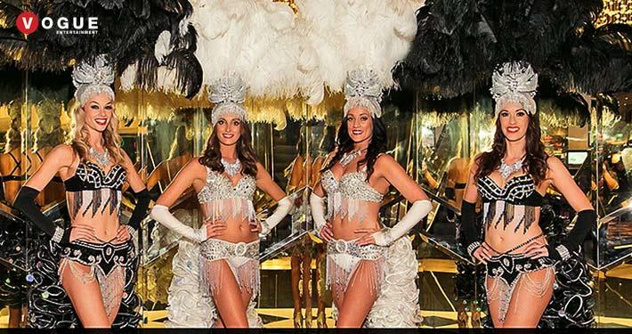 Showgirl Dance Show Vegas Style