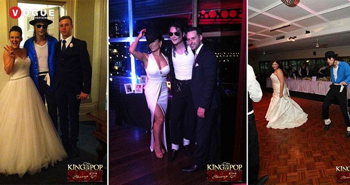 Michael Jackson Tribute Show Weddings